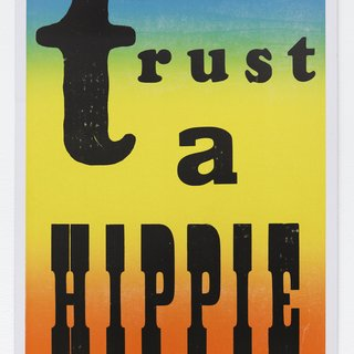 Never Trust a Hippie art for sale