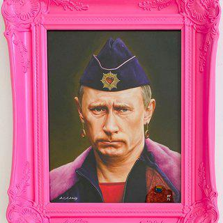 Putin art for sale