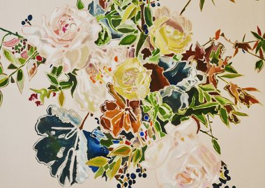 work by Sean Barton - Untitled (Yellow Roses)