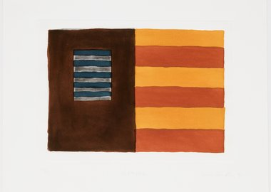 work by Sean Scully - Diptych