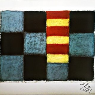Sean Scully Munich (Hand Signed and Dated) art for sale