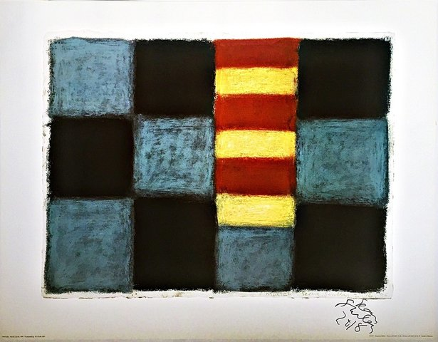 Sean Scully - Sean Scully Munich (Hand Signed and Dated), Print