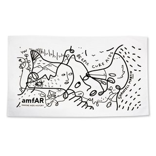 Shantell Martin Beach Towel art for sale