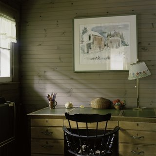 Writing Desk in Parents' Room art for sale