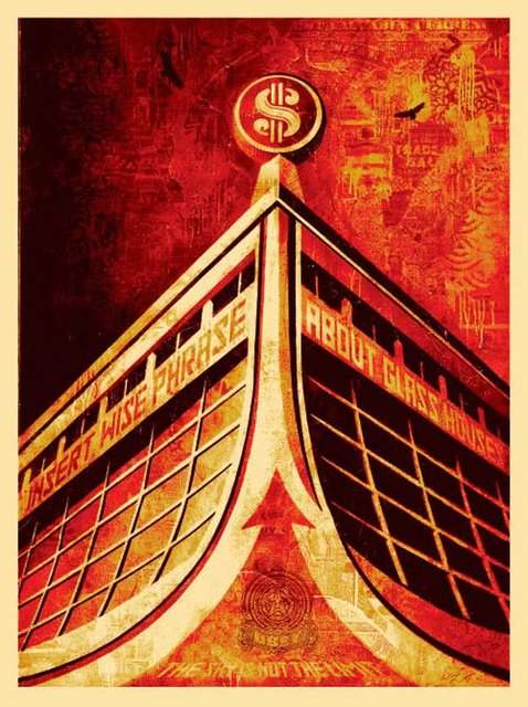 Shepard Fairey, Glass Houses