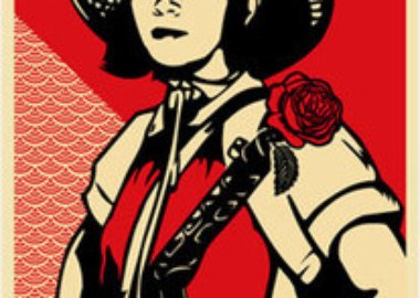 Shepard Fairey - Revolution Girl