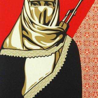 Shepard Fairey, Muslim Woman