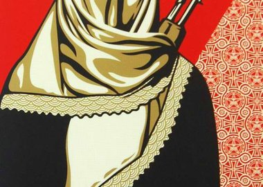 Shepard Fairey - Muslim Woman