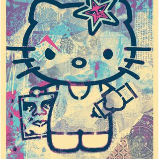 Shepard Fairey, Hello Kitty