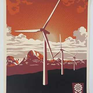 Obey: Windmill art for sale