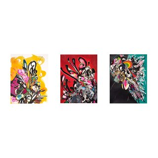 Beautiful Dreamer, Abiding Light, Magnetic Beam Set of 3 art for sale