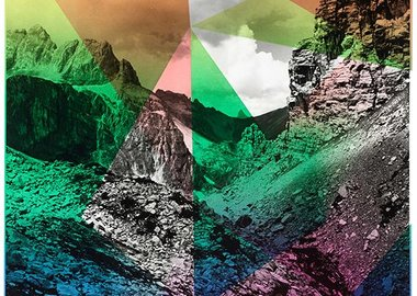 Shirana Shahbazi - Composition With Mountain