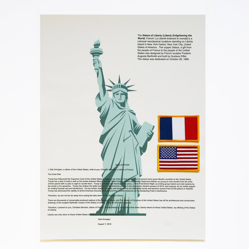 Siah Armajani - Statue of Liberty for Sale   Artspace