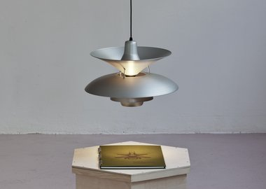 work by Simon Starling - 27 Homemade Henningsen Lamps + 1 Average