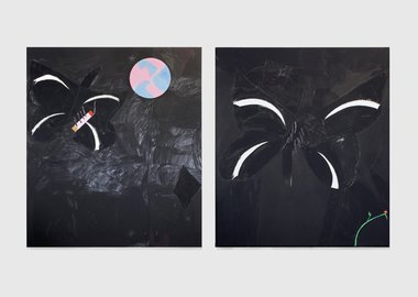 Sojourner Truth Parsons - Untitled (Midnight diptych)