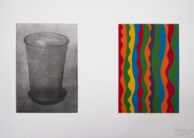 work by Sol LeWitt & Sachiko Cho - Equivalent