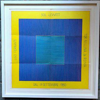 Sol Lewitt, Ugo Ferranti (Hand Signed) art for sale