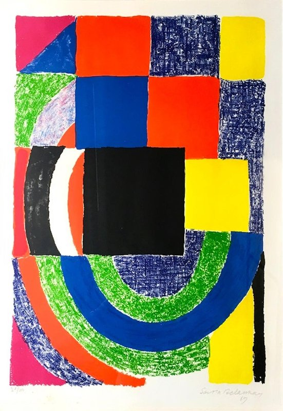 Sonia Delaunay, Composition