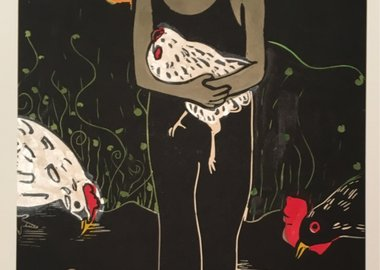 Sophy Naess - Chicken Madonna in Summer I