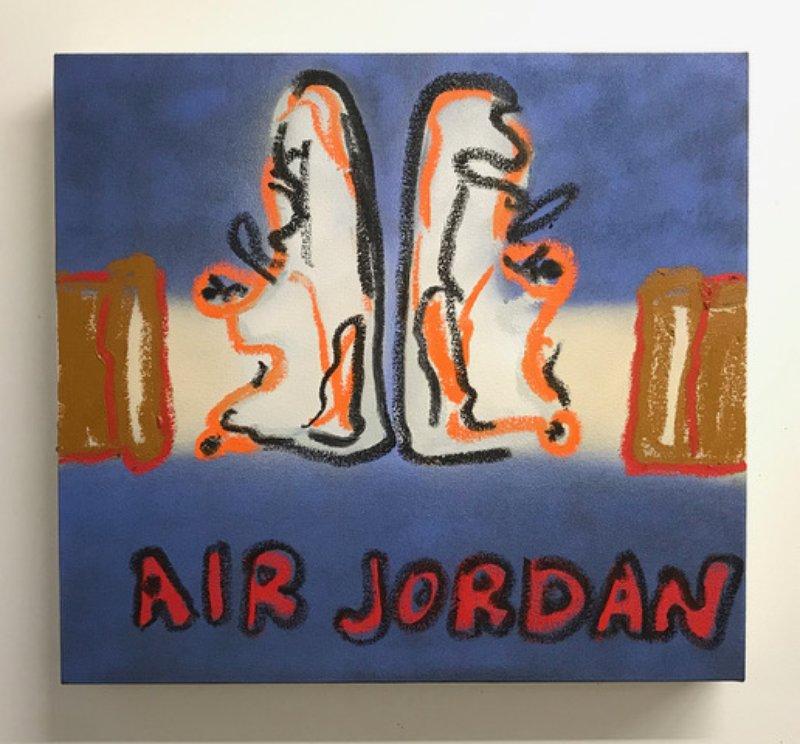 Spencer Harris - Air Jordan Retro 8 for Sale | Artspace