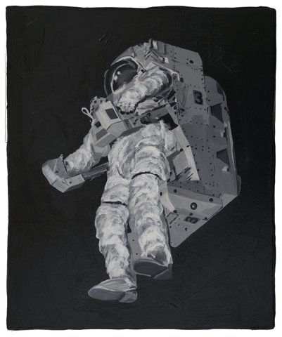 Stefan A Wengen - Detected Dictionary (Astronaut 2), Painting
