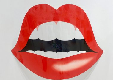 work by Steve Malinchoc - Curved Hot Lips