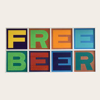 FREE BEER art for sale