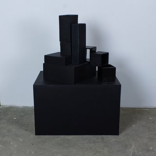 Structure IV - Black art for sale