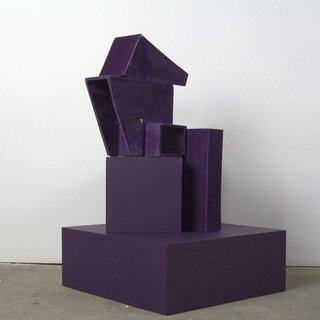 Structure VI - Purple art for sale