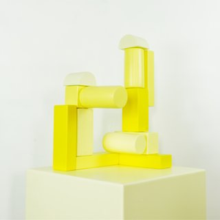 Building Block - Yellow art for sale