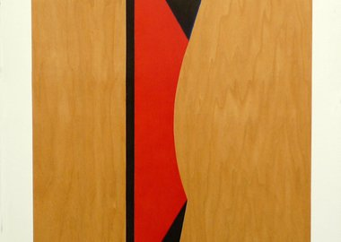 work by Tad Wiley - Untitled, 1990 (TW-01-XX-90) -Red