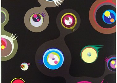 Takashi Murakami - Jellyfish eyes - Black 2