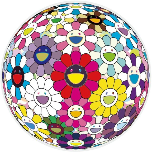 Takashi Murakami, Flowerball: Open your Hands Wide
