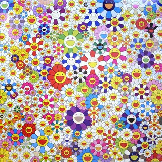 Takashi Murakami, If I Could Reach that Field of Flowers, I Would Die