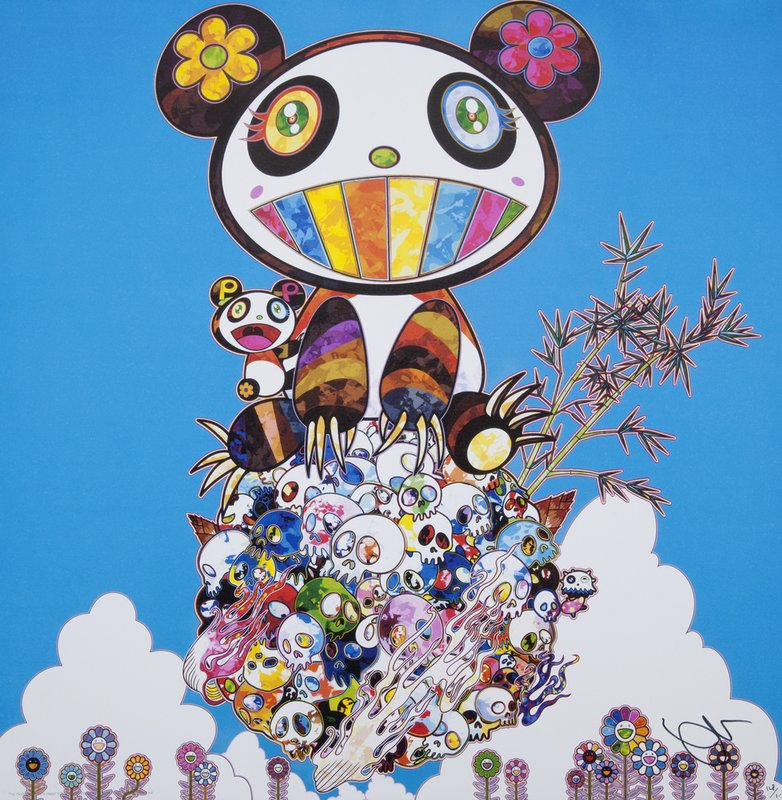 Takashi Murakami The Pandas Say They Re Happy For Sale