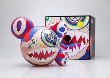 work by Takashi Murakami - Mr DOB Figure By BAIT x SWITCH Collectibles - O...