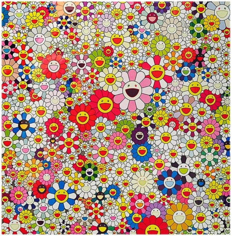Takashi Murakami Flowers In Heaven For Sale Artspace