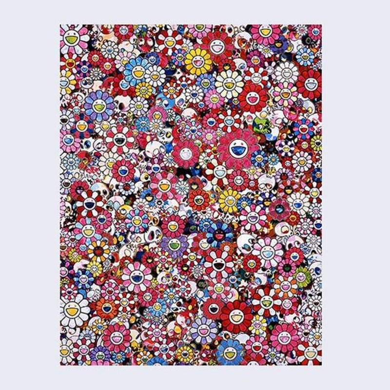 by takashi_murakami - Dazzling Circus: Embrace Peace and Darkness with Thy Heart