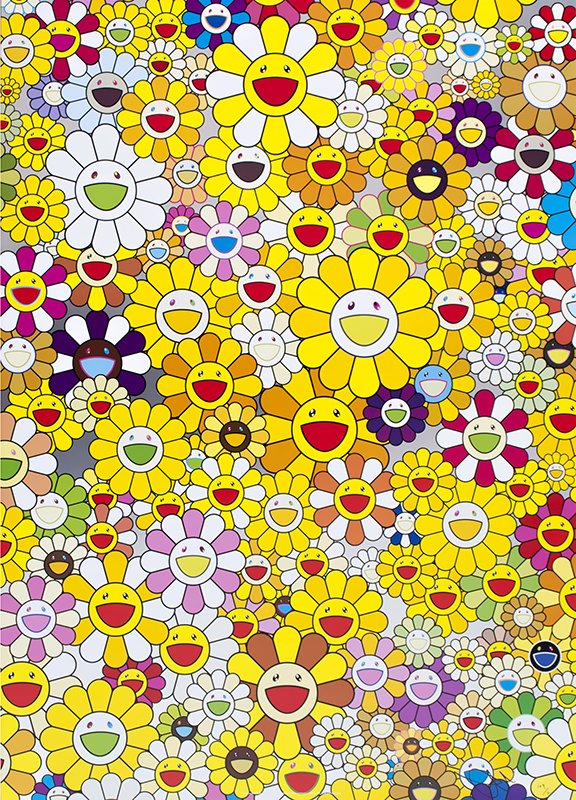 by takashi_murakami - An Homage to Monogold 1960 A
