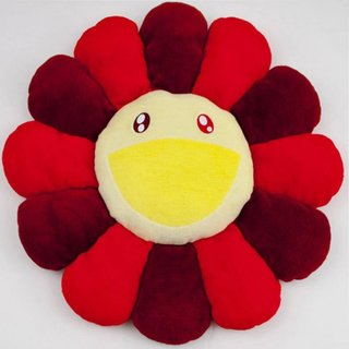Flower Pillow Red - 60cm art for sale