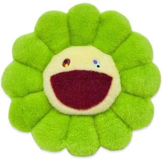 Flower Pillow Green - 30cm art for sale