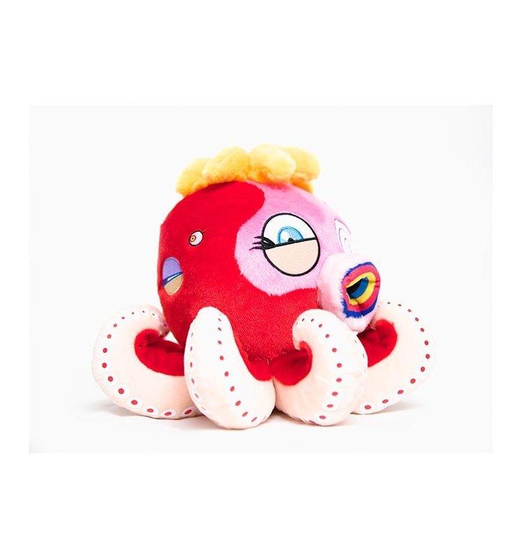 Octopus Medium Red