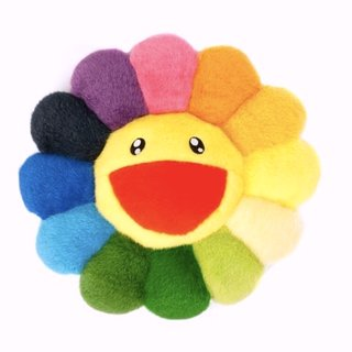 Flower Pillow Rainbow - 30cm art for sale