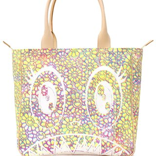Canvas Handbag - Yellow flowers / white artwork / flowers interior art for sale
