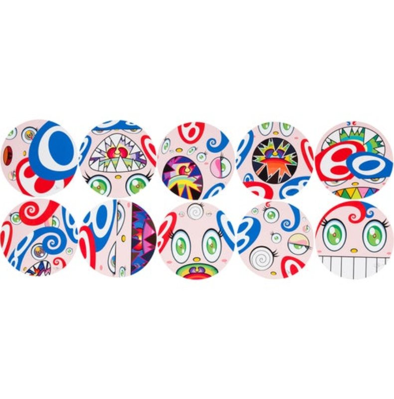 Takashi Murakami - We Are The Square Jocular Clan (Rainbow