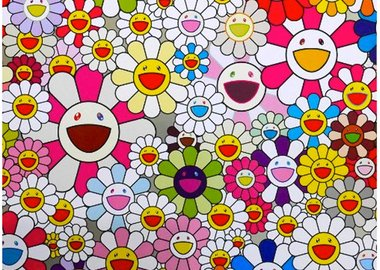 Takashi Murakami - Flowers Blooming in the World and the Land of Nirvana