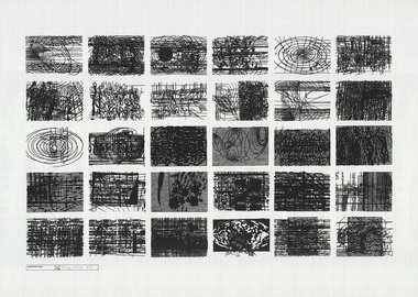 work by Terry Winters - Location Plan 2000