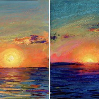 Great South Bay Sunset 8/10/19 art for sale