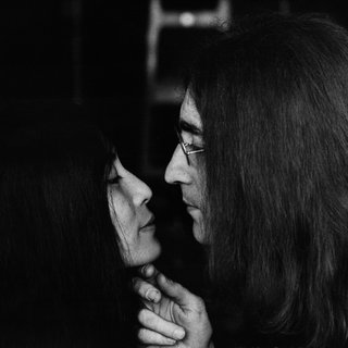 "John Lennon and Yoko Ono - ""The Kiss"" art for sale"