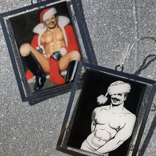 Tom of Finland, Holiday Ornaments (Set of 2)